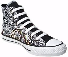 Converse Womens Multi Color Print Hi Trainers Sport Shoes Sneakers All Sizes~