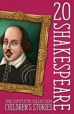 NEW Twenty Shakespeare Children's Stories: The Complete 20 Books Boxed Collectio
