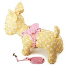 LOVABLEDOG NEW Adjustable Angel Cute Cozy Soft Harness Pet Dog Puppy With Leash