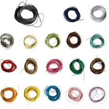 10M 1mm Beading Jewelry Cord Wax Nylon String DIY Findings Bracelet Thread Cord