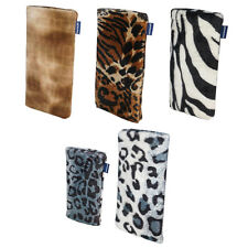 Samsung S6 Edge + Phone Sock Cover Case Pouch Sock Faux Fur Fabric