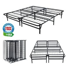 Platform Bed Steel Frame Metal Twin XL Full Queen King Cal No Box Spring Bed NEW