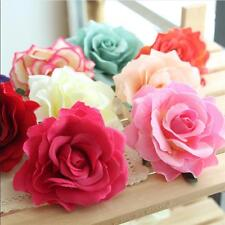 Hairpin Bridal Wedding Bridesmaid Rose Flower Accessories Party Brooch Hair Clip