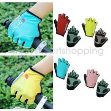 MTB Bike Bicycle Riding Cycling Fitness Workout Reflective Half Finger Gloves