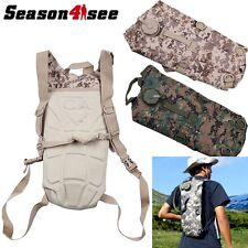 2L Hydration System Survival Water Bag Pouch Backpack Bladder Climbing Hiking