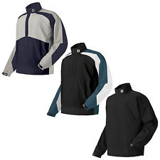FOOTJOY MENS HALF ZIP WATERPROOF JACKET - NEW FJ HYDROLITE RAIN SHIRT TOP 2015