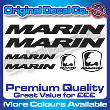 Premium Quality Marin Bike Decals Stickers mountain bike road frame mtb