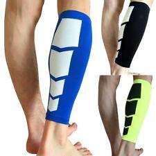 Spandex Elastic Compression Calf Wrap Support Sport Running Sleeve Brace Protect
