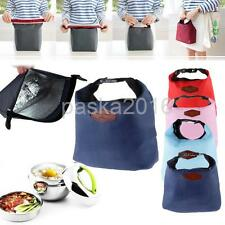 Thermal Travel Picnic Lunch Waterproof Insulated Cooler Bag Organizer Colorful