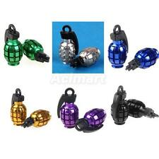 Grenade Scooter Bike Car Motorcycle Tire Tyre Wheel Air Valve Dust Covers Cap