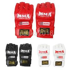 MMA UFC Grappling Thai Gloves Fighting Boxing Sparring Punch Bag Sports Gloves