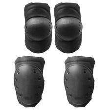 4 Pcs Cycling Skating Biking Protective Gear Tactical Knee Elbow Guard Pads Set