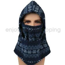 Double-sided Fleece Windproof Bike Winter Full Face Mask Neck Cover Cap 4 Color
