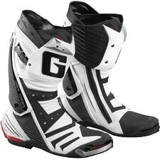 Gaerne GP1 Road Racing Street Boots White