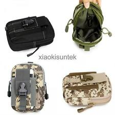 Tactical Molle Pouch Belt Waist Pack Bag Army Military Waist Fanny Pack Pocket