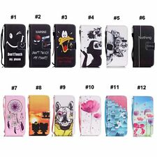 Patterned Leather Flip Wallet Case Cover Stand For Samsung Galaxy S 3 III i9300