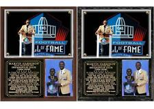 Marvin Harrison Enshrined in the Pro Football Hall of Fame Photo Plaque
