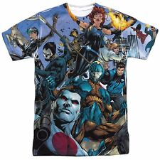 Valiant Universe Comics All Over Print Sublimation Poly Adult Shirt S-3XL