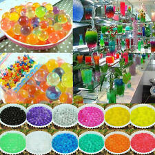 20 Packs Magic Water Plant Flower Gel Crystal Soil Mud Grow Pearls Beads Balls