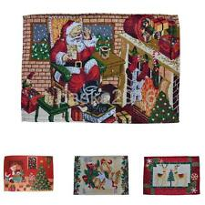 Table Placemats Christmas Dinning Placemat Table Mat Xmas Holiday Party Decor