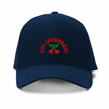 GOT CHERRIES? Embroidery Embroidered Adjustable Hat Baseball Cap