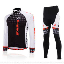 Cycling Suit Long Sleeve Bicycle Set Bike Jersey and MTB Pants / Tights S-XXXXXL