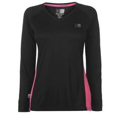Ladies KARRIMOR Long Sleeved Running Top - Jersey Shirt Fitness Cycling Gym New