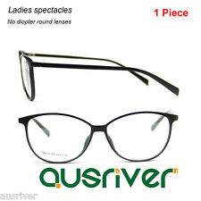 Ultralight Full Frame Round Eyeglasses Frame Women's Fashion Specticale Lenses