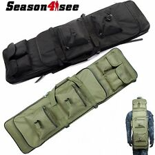 1x100CM/39'' Tactical Dual Rifle Airsoft Hunting Backpack Bag W/Shoulder Strap