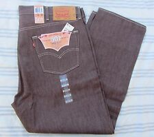 NEW Men's LEVI STRAUSS Jeans 501 Original Button Fly Shrink to Fit Size 42 44 46