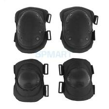 4Pcs/Set Military Tactical Protective Gear Skateboard Hunting Elbow Knee Pads