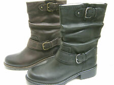 CLARKS LADIES SHORT BOOTS IN BLACK OR BROWN LEATHER ORINOCCO JIVE