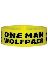 One Man Wolfpack Rubber Wristband - NEW & OFFICIAL