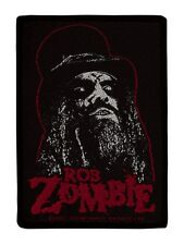 Rob Zombie Portrait Patch - NEW & OFFICIAL