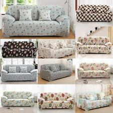 3 Seater Sofa Removable Stretch Slipcover Lounge Couch Cover Various Design