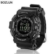 BOZLUN ST04 Outdoor Military Altimeter Barometer Waterproof Digital Watch K1P3