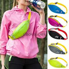 Waterproof Jogging Cycling Sport Phone Pouch Running Hiking Waist Chest Pack Bag