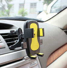 For iPhone Samsung Mobile Phone Car Air Vent Cradle New Holder Stand Mount