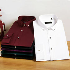 Stylish Mens Luxury Casual Long Sleeve Dress Shirts Slim Fit Shirts M16601