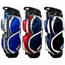 MD GOLF MENS RATHMORE CART BAG - NEW 14 WAY DIVIDER TOP LIGHTWEIGHT TOUR 2016