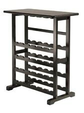 Winsome Wood Winsome Vinny Wine Rack, 24 Bottle with Glass Hanger