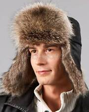 The Raccoon Fur Russian Trooper Hat -Brand: FRR -Made in Canada