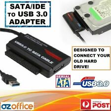 "USB 3.0 USB 2.0 to SATA IDE 2.5"" 3.5"" HDD Adapter - Connect Your Old Hard Drive!"
