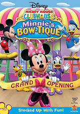 Mickey Mouse Clubhouse: Minnie's Bow-tique (DVD, 2010) - Brand New and Sealed