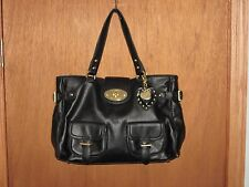 MULBERRY FOR TARGET Black Faux Leather Tote Bag Purse