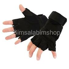Outdoor Sport Fingerless Military Tactical Airsoft Hunting Riding Gloves Mitts