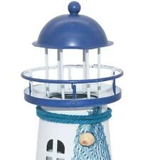 Modern Nautical Lighthouse Table Lamp Iron LED Light Home Decor 4 Types