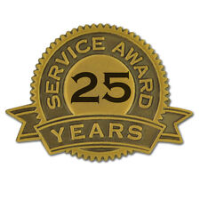 25 Years of Service Award Lapel Pin