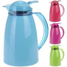 1 Ltr Push Button Insulated Vacuum Jug Flask Thermos Coffee Tea Drinks Dispenser