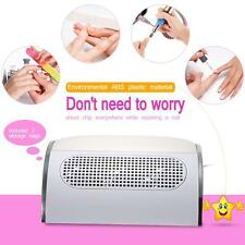 Nail Dust Collector Strong Power Fingernail Cleaning Collector US/EU Plug M7M4